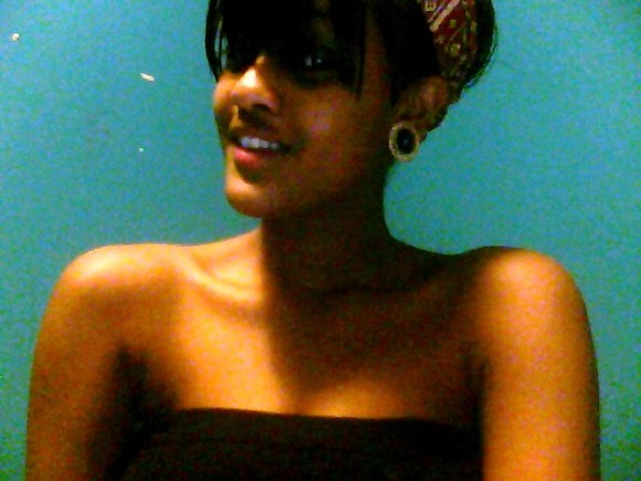 bangs and short hair don't care